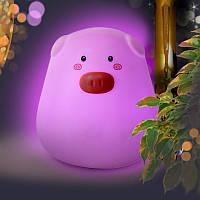 Детский ночник сенсорный светильник Свинка Light Pig 150119