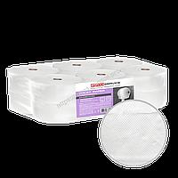 Туалетная бумага джамбо из восстановленной целлюлозы eco 2х-слойная 170 м 12 шт/уп PRO Service Comfort