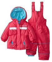 Зимний костюм(куртка и полукомбинезон) Pink Platinum(США) для девочки 12мес, 18мес