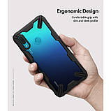 Чехол Ringke Fusion X для Huawei P Smart 2019 Black, фото 3