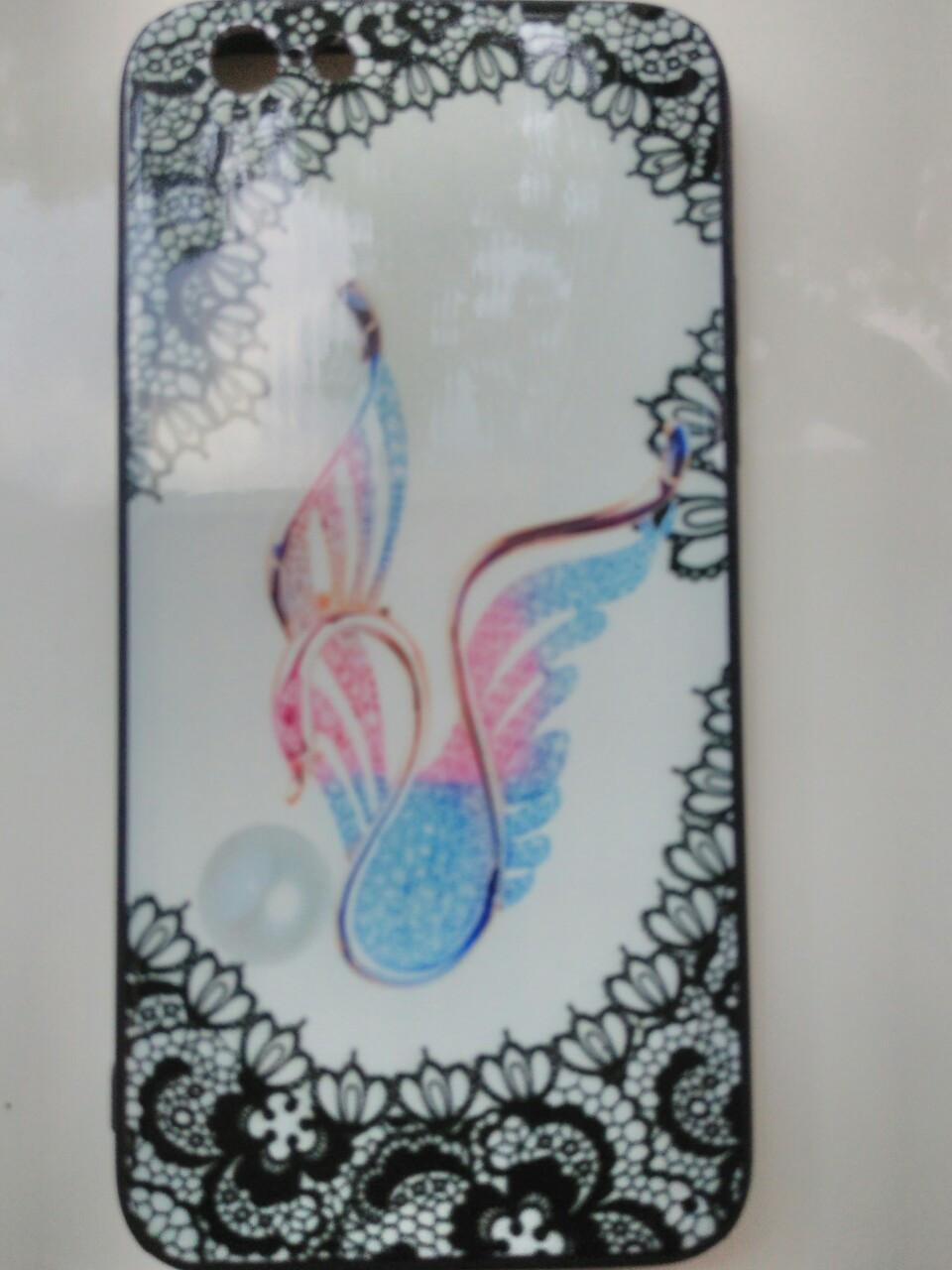 Накладка с рисунком   Guipure Desing    для  iPhone 6