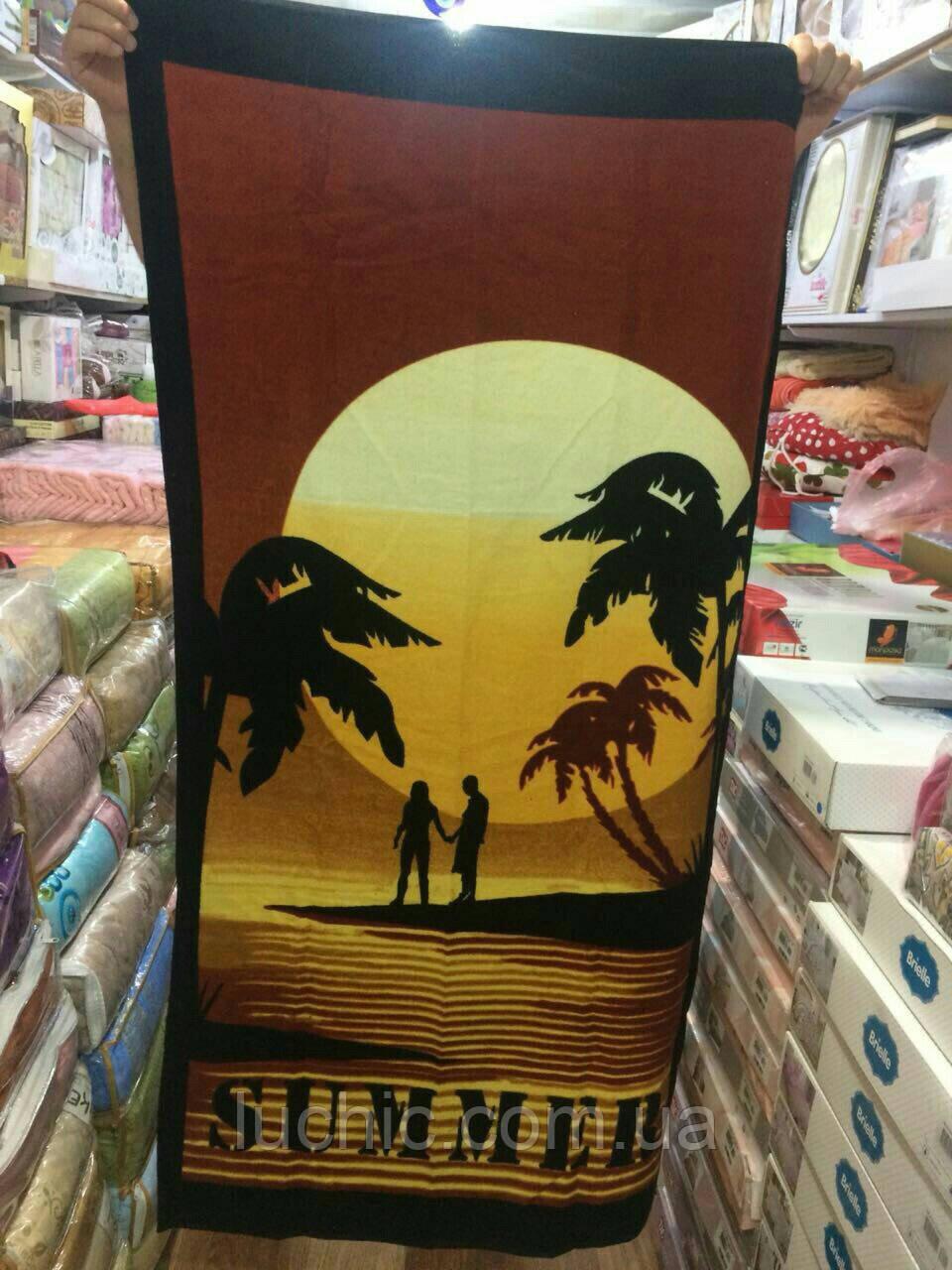 Пляжные полотенце Турецкие 70/140 см