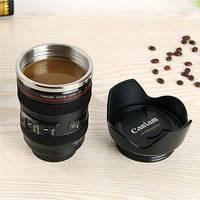 Кружка-мешалка в виде объектива Camera Lens/Кружка термо для кофе