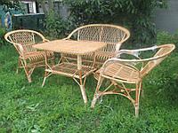Комплект мебели из лозы , фото 1