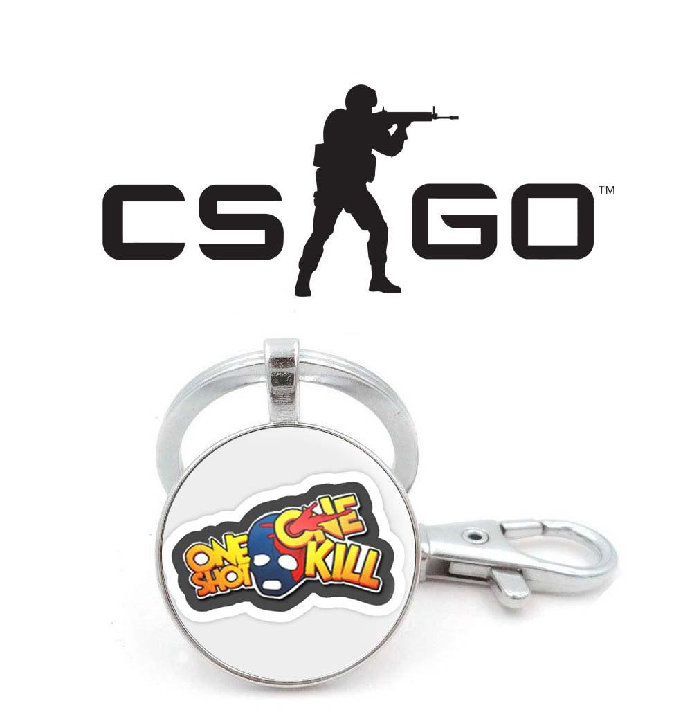 "Брелок Counter-Strike CS:GO ""One Shot - One Kill"""