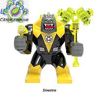 Большие фигурки Синестро Марвел Лего 7-9 см конструктор аналог, фото 1