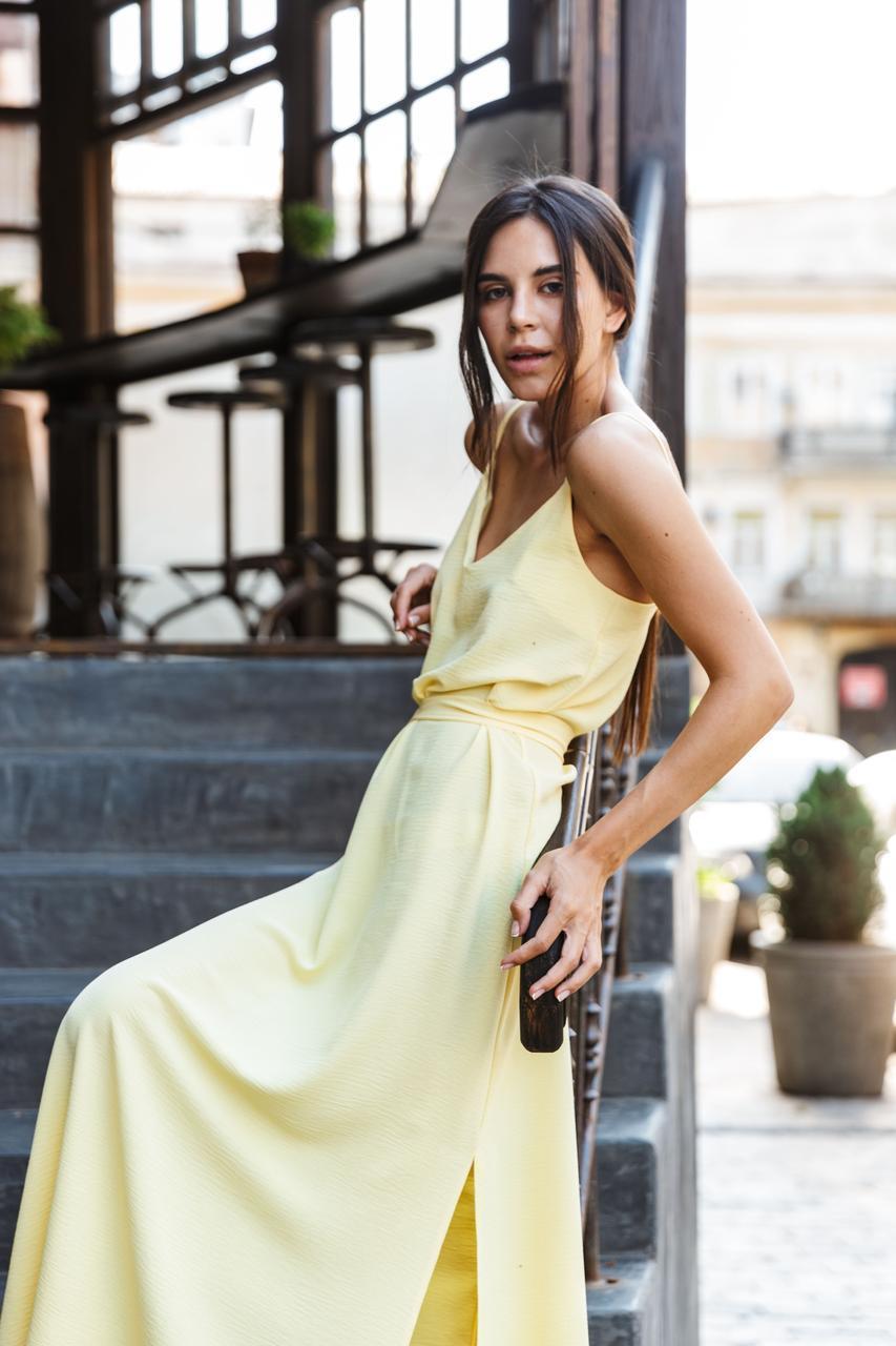 Платье LiLove 1-011/2 46-48 желтый
