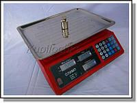 Торговые весы Олимп ACS-769 40 кг (деление 5 гр)