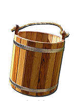 Sauna Pro Ведро деревянное дубовое SP 12 л. (C-098)