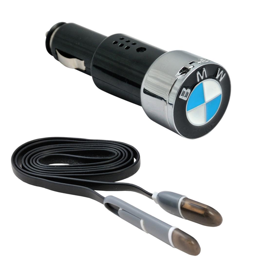 Автомобильное зарядное устройство AZU с логотипом BMW
