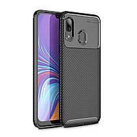 Чехол Carbon Case Samsung A205 Galaxy A20 / A305 Galaxy A30 Черный