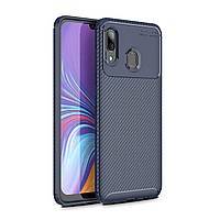 Чехол Carbon Case Samsung A205 Galaxy A20 / A305 Galaxy A30 Синий