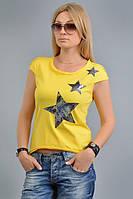 """Женская футболка с принтом """"звезды"""""""