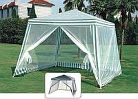 Павильон-шатер с москитной сеткой и молниями 3 м