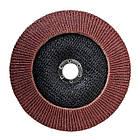 Диск шлифовальный лепестковый 180x22 мм, зерно K80 INTERTOOL BT-0228, фото 2