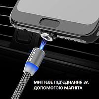 МагнитныйкабельдлязарядкиIphone (1 метр) \ шнур магнитный iPhone(Lightning, 8-Pin)