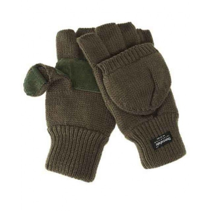 Акриловые перчатки-варежки Thinsulatе MilTec, Olive 12545001 M
