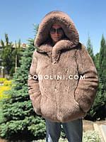 Мужской полушубок из  песца Saga Furs