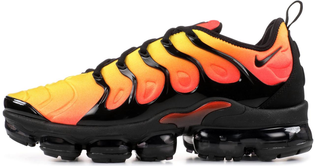 new product afcca 300b9 Мужские кроссовки Nike Vapormax TN Yellow Orange 44