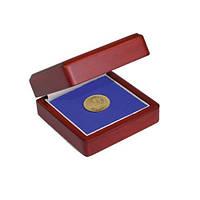 Деревянный футляр для монет в капсулах 78Х78 мм - SAFE