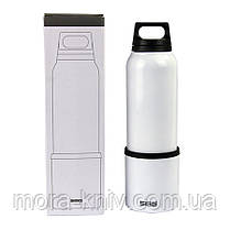 Термос SIGG original Thermo Flask Hot & Cold Brushed 1000мл. Белая (8448.30 ), фото 3