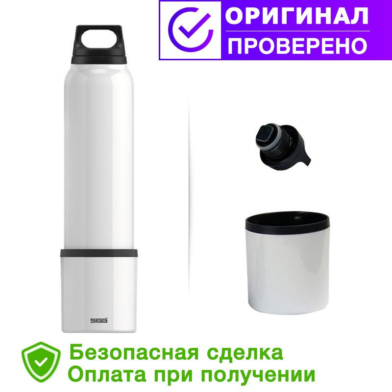 Термос SIGG original Thermo Flask Hot & Cold Brushed 1000мл. Белая (8448.30 )