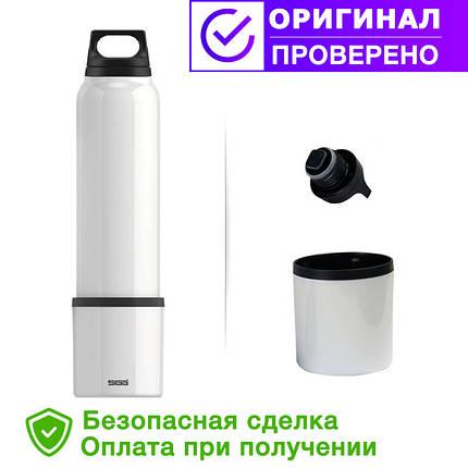 Термос SIGG original Thermo Flask Hot & Cold Brushed 1000мл. Белая (8448.30 ), фото 2