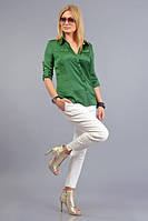 Блуза из трикотажа жатка