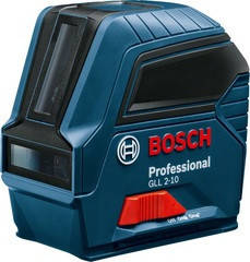 Bosch GLL 2-10 Professional Линейный лазерный нивелир (0601063L00)
