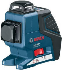 Bosch GLL 2-80 P Professional Линейный лазерный нивелир + BM1 + кейс (0601063208)