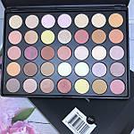 Палетка теней 35 матовых и перламутровых цветов Morphe Brushes 35 P, фото 7