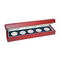 Дерев'яний футляр для монет в капсулах 250Х75 мм - SAFE