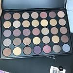 Палетка теней 35 матовых и перламутровых цветов Morphe Brushes 35T, фото 5