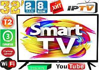 """Телевизор LG SmartTV 32"""" Super Slim 2/8GB FullHD,LED, IPTV, Android, T2, WIFI, USB"""