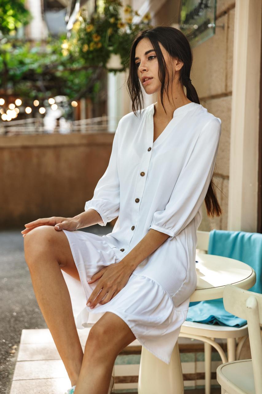Платье LiLove 1-010/1 46-48 белый