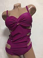 Купальник женский сдельный.бордовый, M&M Secret 3946