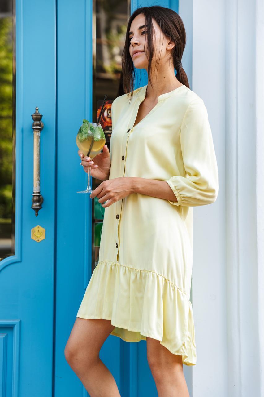 Платье LiLove 1-010/2 44-46 желтый