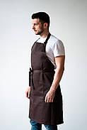 Фартух Latte Подовжений   з нагрудником, фото 6