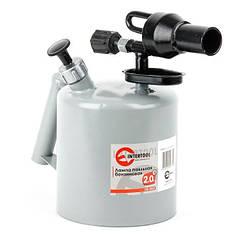 Лампа паяльная бензиновая 2.0 л INTERTOOL GB-0033
