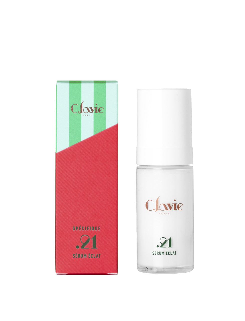 Сыворотка для лица с эффектом сияния C.LAVIE