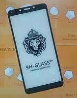 Защитное стекло Full glue (5D) Xiaomi Redmi 6A /6  (Black)