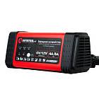 Зарядное устройство 6/12В, 4/8A, 230В, LED-индикация INTERTOOL AT-3018, фото 3