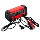 Зарядное устройство 6/12В, 4/8A, 230В, LED-индикация INTERTOOL AT-3018, фото 4