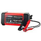 Зарядное устройство 6/12В, 4/8A, 230В, LED-индикация INTERTOOL AT-3018, фото 7