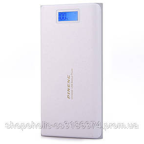 Внешний аккумулятор Power bank 40000 mAh Pineng PN-920 White