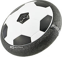 Футбольный мяч футболайзер для дома с подсветкой Hoverball KD008 черный