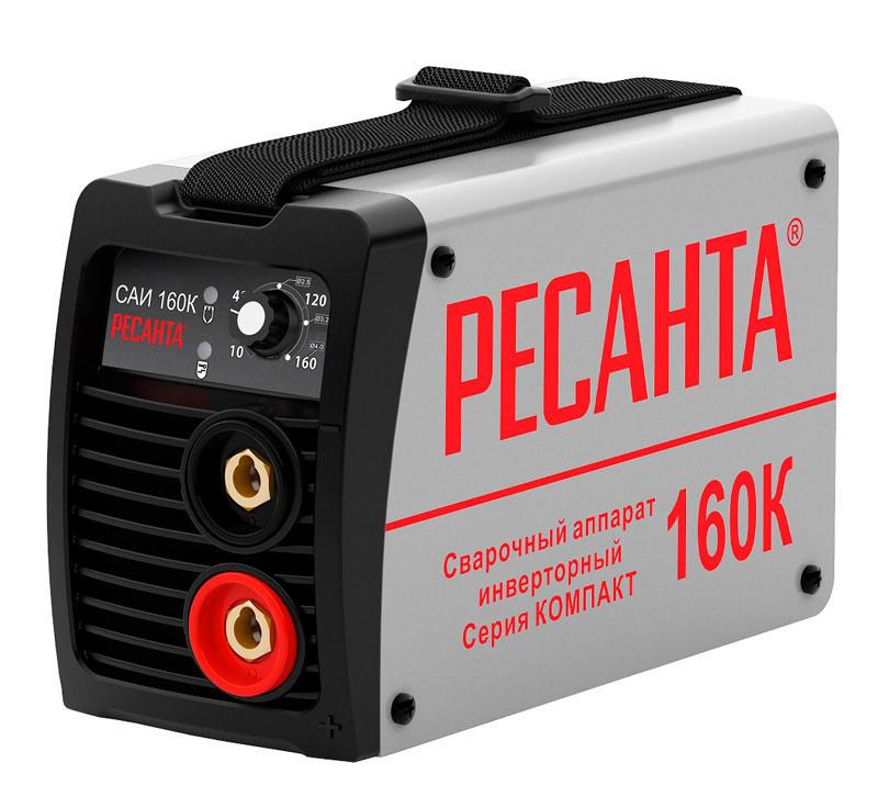 Сварочный аппарат инверторный САИ160К(компакт) Ресанта 65/35