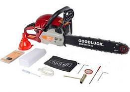 Бензопила Goodluck 5800 E 1 шина 1 цепь пп металл праймер