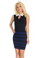 Облегающее бандажное платье (44-46)