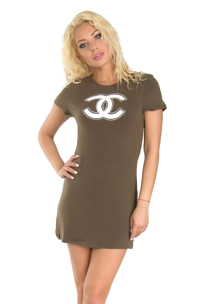 Теплое платье-туника (в расцветках 44)